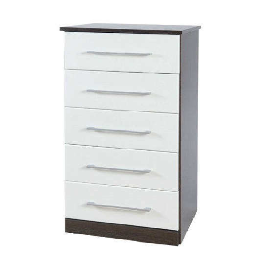 Heaven tallboy 5 drawer chest of drawers price comparison for Furniture in fashion