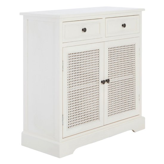 Heritox Wooden 2 Doors 2 Drawers Sideboard In Antique White