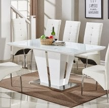 high gloss dining tables UK
