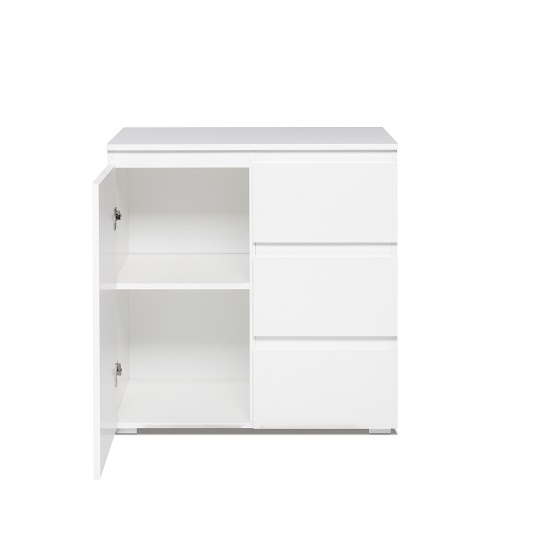 Hilary Contemporary Wooden Chest Of Drawers In White_2