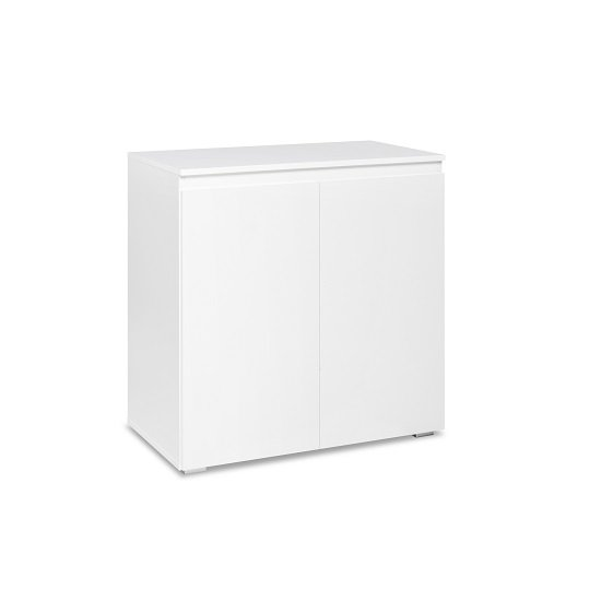 Hilary Wooden Compact Sideboard In White_3