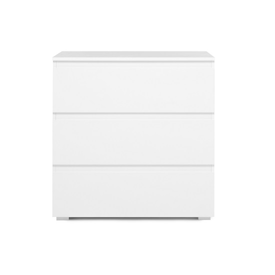 Hilary Contemporary Wooden Small Chest Of Drawers In White_2