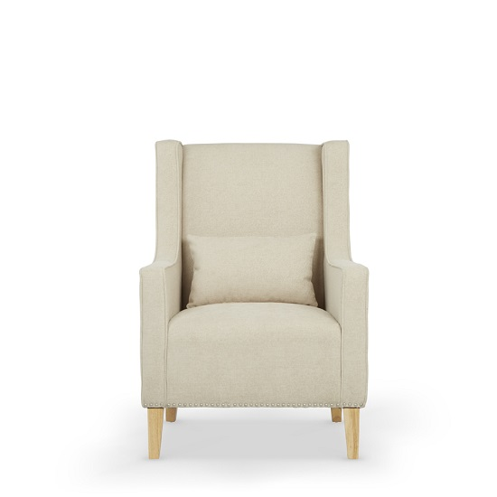 Hilton Fabric Lounge Chair With Foot Stool In Cream_3