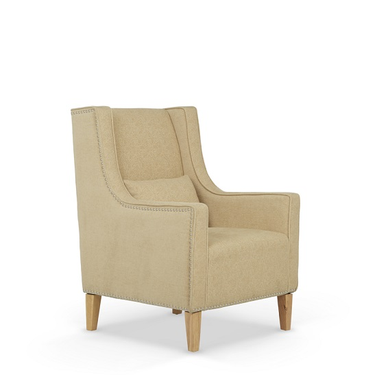 Hilton Fabric Lounge Chair With Foot Stool In Oatmeal_2