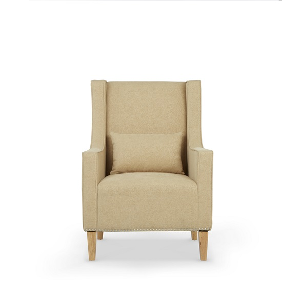 Hilton Fabric Lounge Chair With Foot Stool In Oatmeal_3