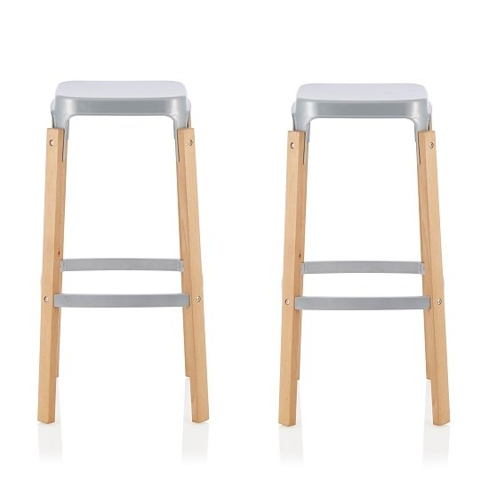 Shop online for stools in leather, metal & wood for kitchen and dressing table