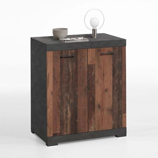 Holte Wooden Sideboard In Matera And Old Style Dark