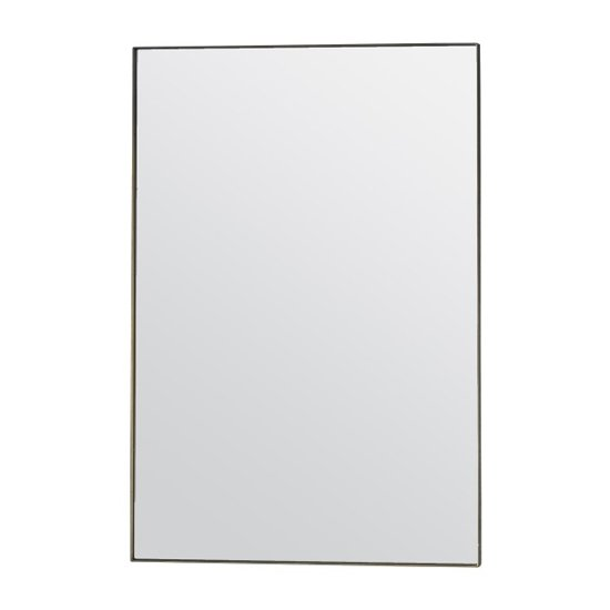 Hurston Wall Bedroom Mirror In Champagne