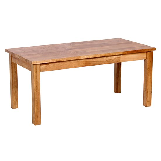 Hyde Wooden Coffee Table In Oak