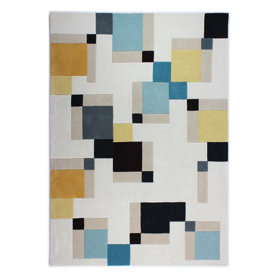 Illusion Abstract Blocks Rug_2