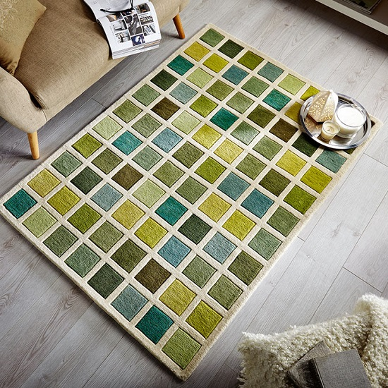 Illusion Tonal Campari Rug