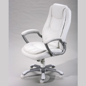 Montello White Office Chair