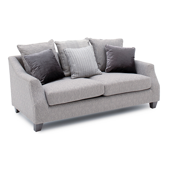 Imogen Fabric Upholstered 2 Seater Sofa In Grey_1