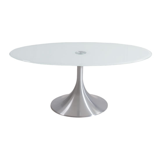 Tim Clear Glass Coffee Table With High Gloss White Base: Buy Glass Coffee Table, Furniture In Fashion