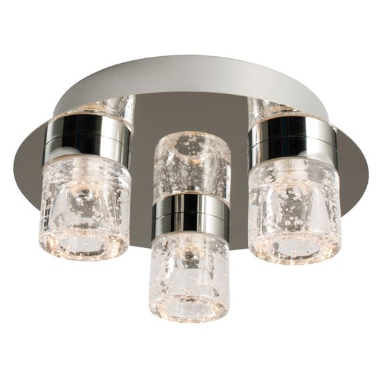 Imperial 3 Ceiling Lamp In Chrome