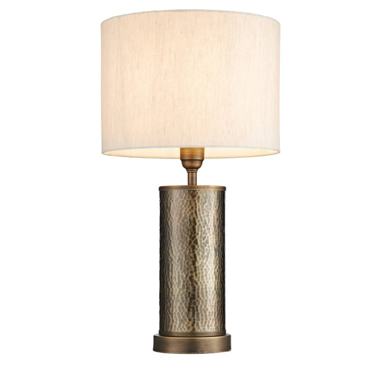 Indara Table Lamp In Brass