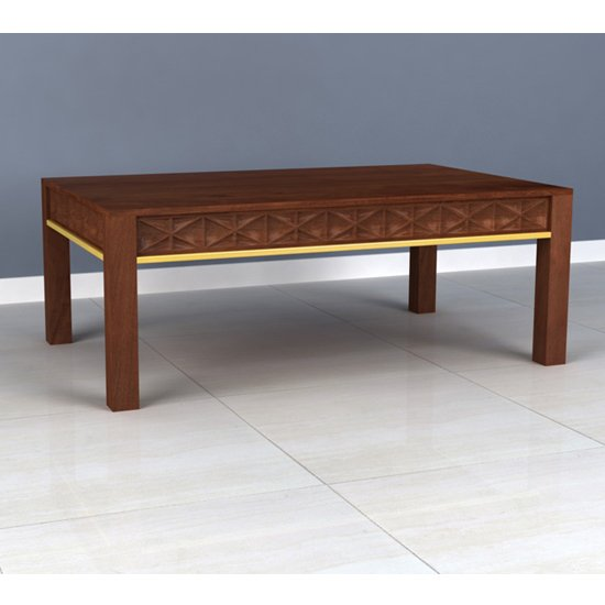 Ivy Wooden Coffee Table In Rich Walnut_1