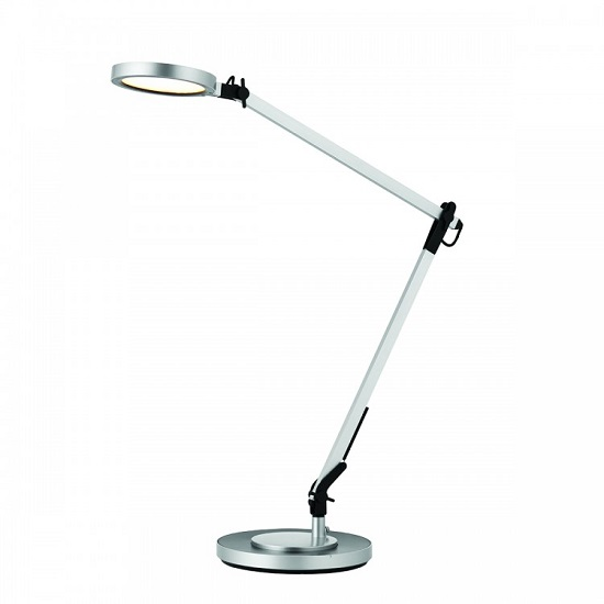 Jak Touch Table Lamp In Silver Finish
