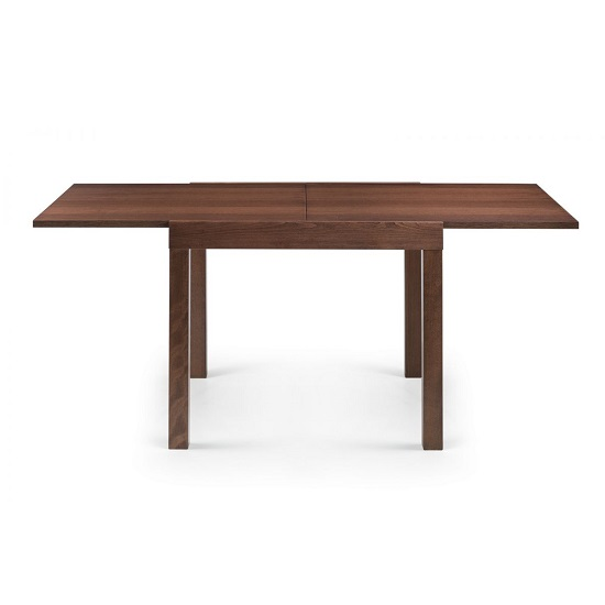 Jakey Wooden Extending Dining Table In Walnut Effect_1