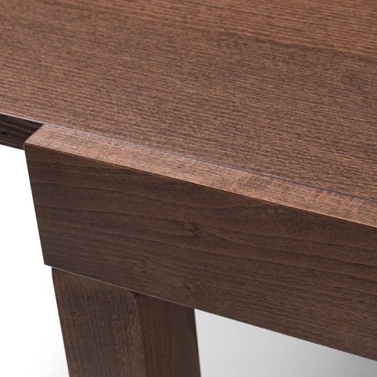 Jakey Wooden Extending Dining Table In Walnut Effect_5