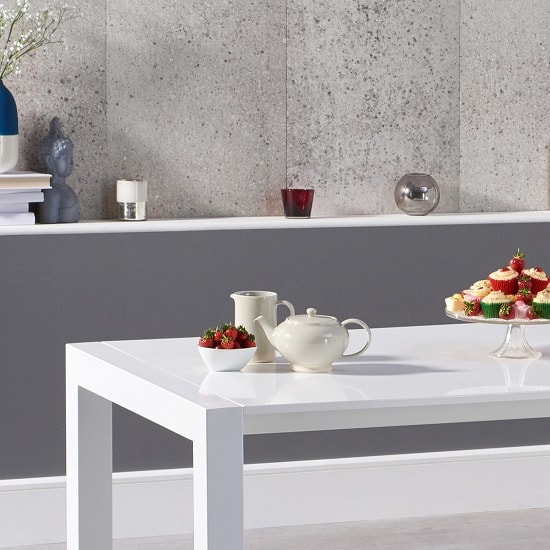 Jensen Extendable Dining Table In White High Gloss_2