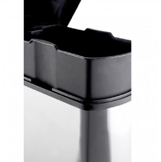 Jerry Stainless Steel Pedal Bin In Rectangle_3