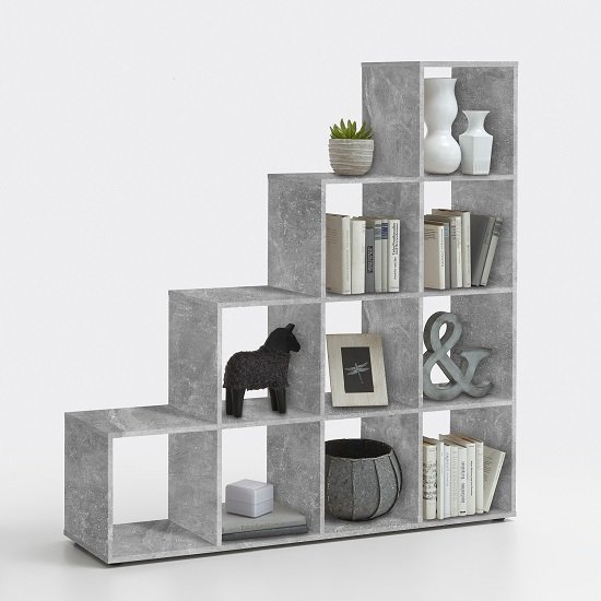 Read more about Jessica display stand in light atelier with 10 compartments
