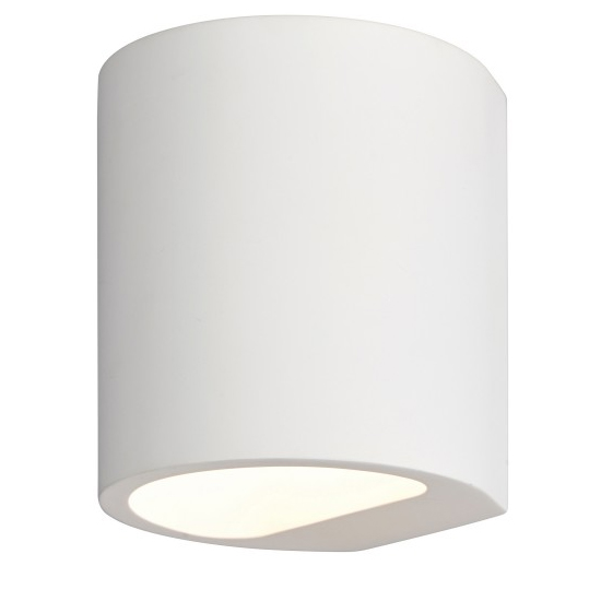 Joakim Concrete Wall Light In White_1
