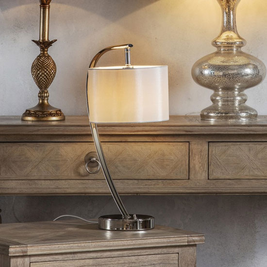 Josephine Table Lamp In Chrome