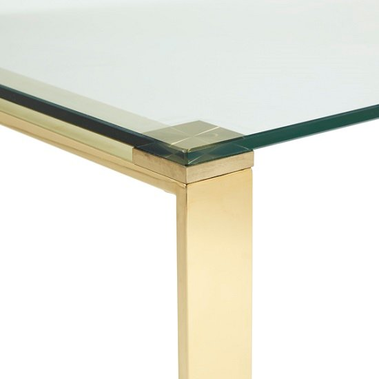 Joyce Coffee Table Rectangular In Clear Glass With Gold Legs_5