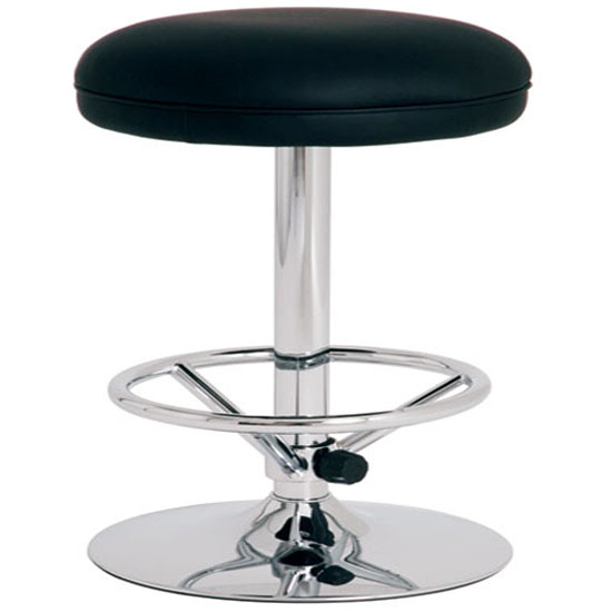 jumbo1 black bar stool 95512 - How To Choose Bar Stools For Large People