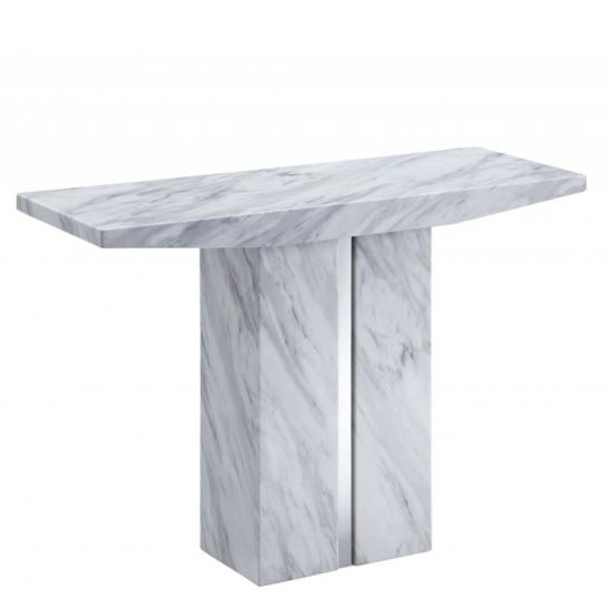 Jupiter Marble Console Table Rectangular In White Carrera_2 ...