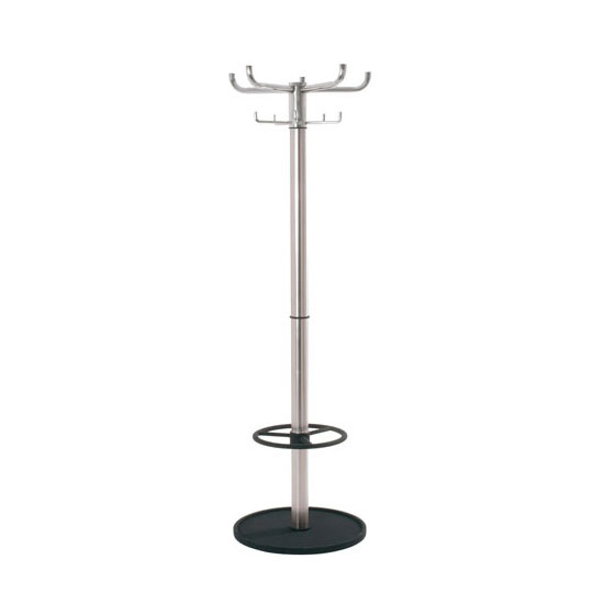 Karma Hat And Coat Stand In Chrome Finish