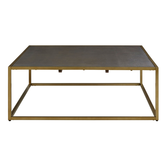 Fomalhaut Wooden Coffee Table In Brown