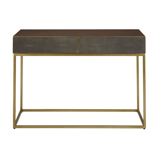 Fomalhaut Wooden Console Table In Brown