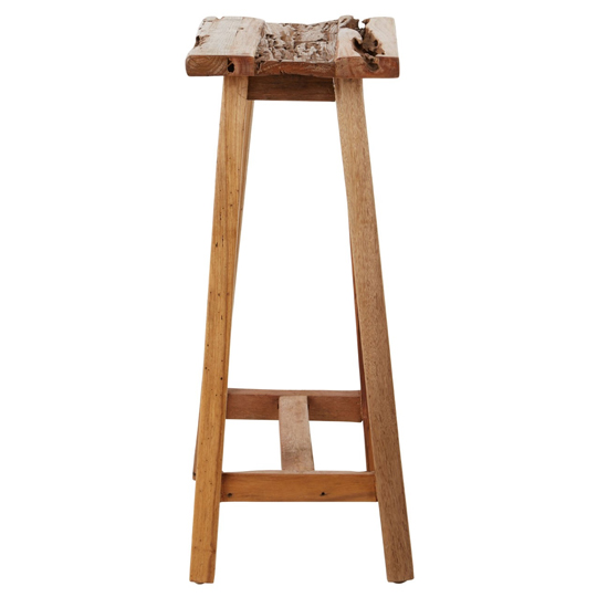 Formosa Teak Wood Stool In Brown      _3