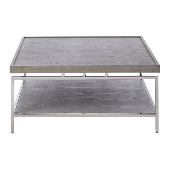 Furud Townhouse Coffee Table In Silver