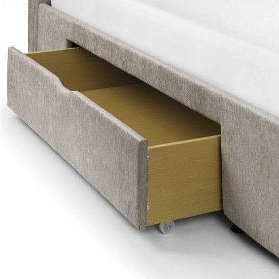 Kenton Fabric Storage Double Bed In Mink Chenille_2