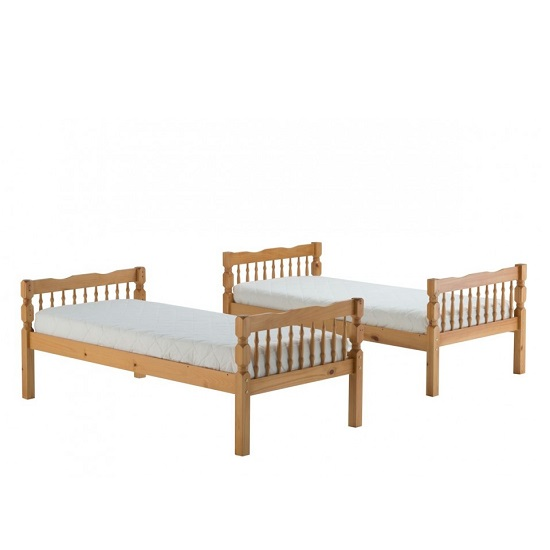 Keswick Wooden Children Bunk Bed In Antique Pine_2