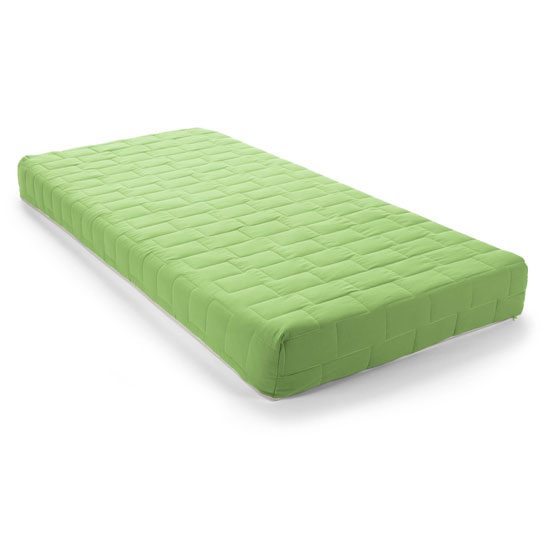 Kids Flex Reflex Foam Firm Double Mattress In Green