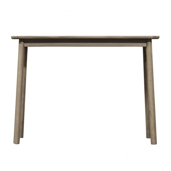 Kingham Wooden Console Table In Grey