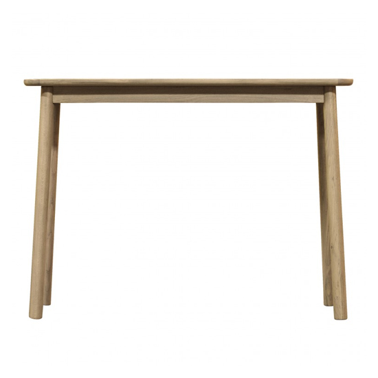 Kingham Wooden Console Table In Oak