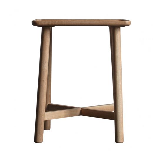 View Kingham wooden side table in oak