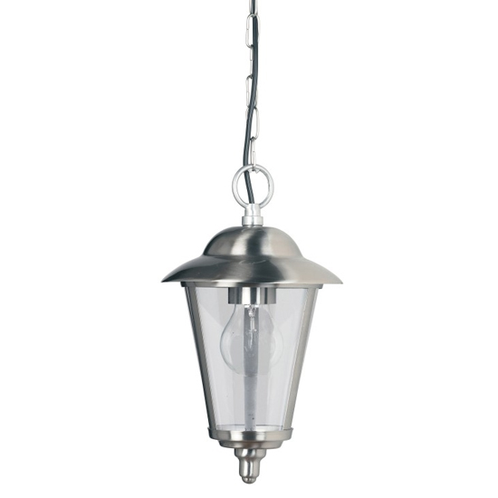Klien Wall Hung Pendant Light In Chrome