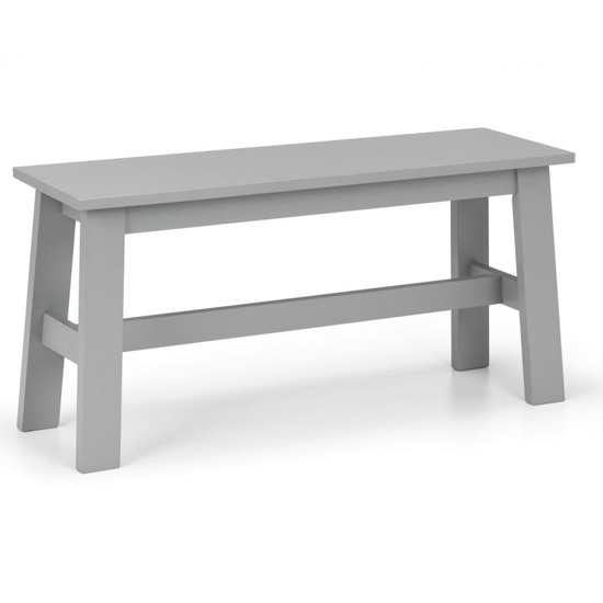 Kobe Dining Set In Lunar Grey With Bench And 2 Chairs_3