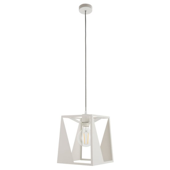 Kolo Wall Hung Pendant Light In White
