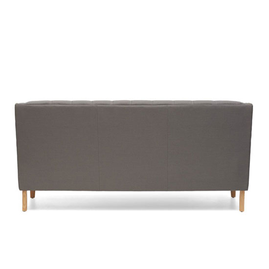 Kosmo 3 Seater Sofa In Grey Fabric With Natural Ash Legs_5