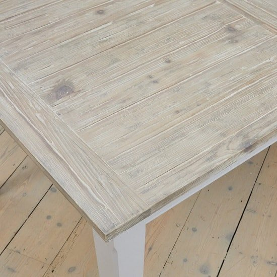 Krista Wooden Extendable Dining Table Rectangular In Grey_4