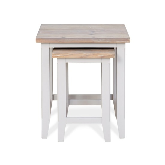 Krista Contemporary Wooden Nest Of 2 Tables In Grey_2