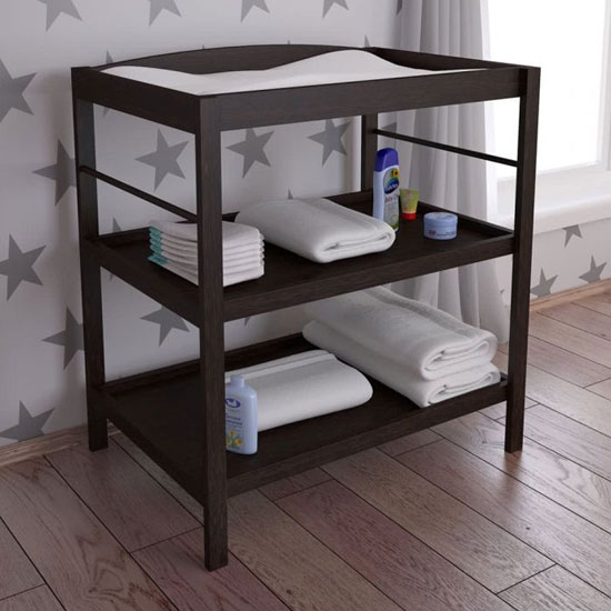 Kudl Kids Wooden Changing Table In Wenge_1